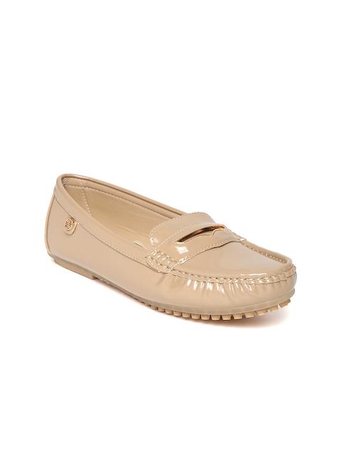 Carlton London Women Beige Loafers