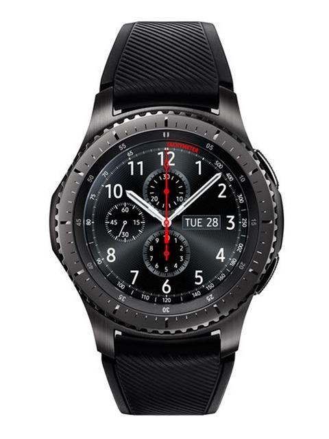 Samsung Unisex Black GEAR S3 - FRONTIER Smart Watches