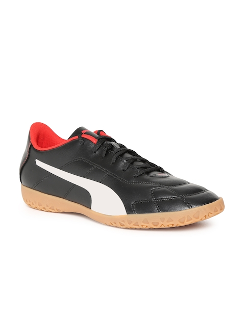 Puma Men Black Classico C Football Shoes