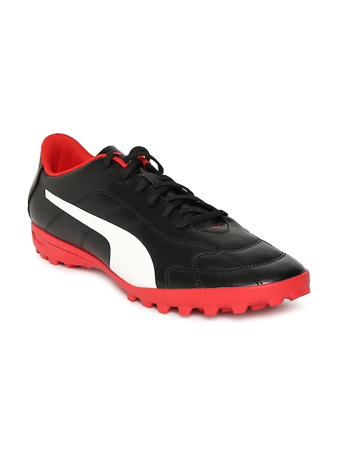Puma Men Black Classico C TT Football Shoes
