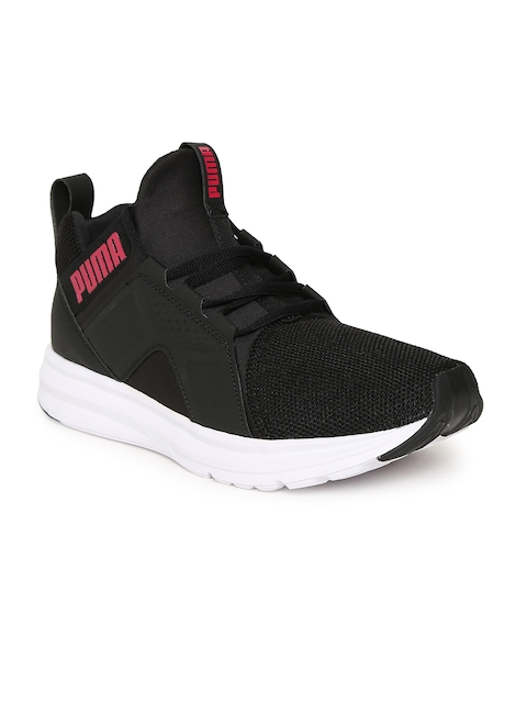 Puma Women Black Enzo Mesh Running Shoes