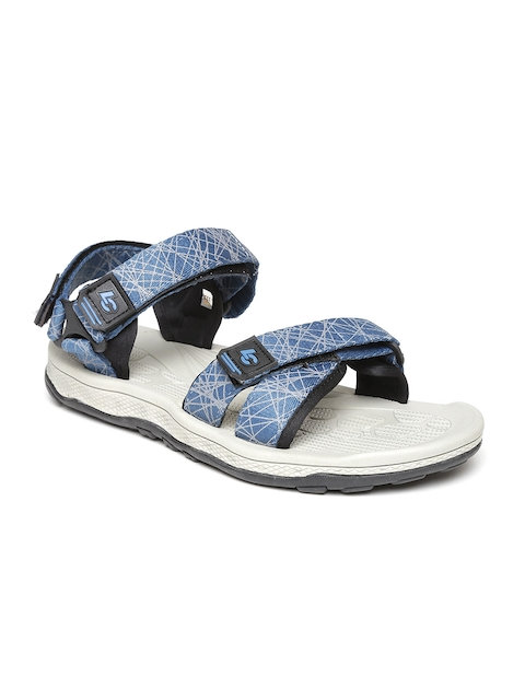 Roadster Men Teal Blue Printed Sports Sandals  available at myntra for Rs.1199