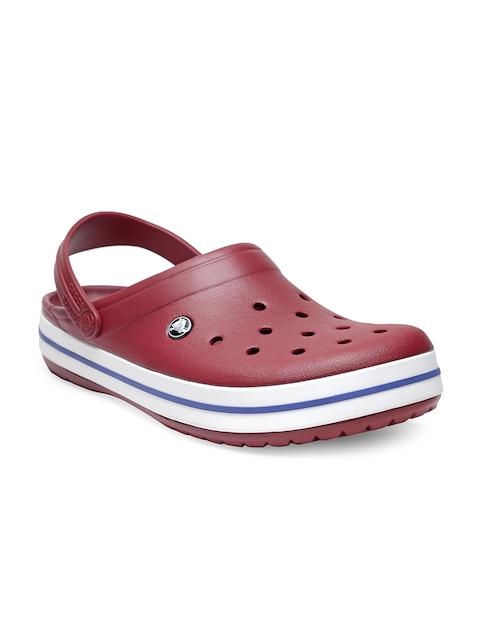 Crocs Men Maroon Clogs