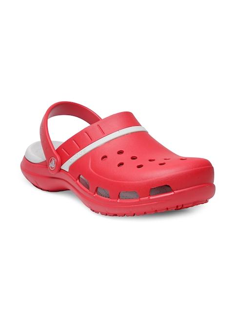 Crocs Men Red & White MODI Sport Clogs