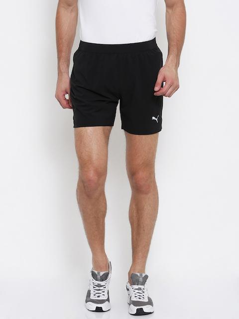 Puma Men Black Solid Speed 5Sports Shorts
