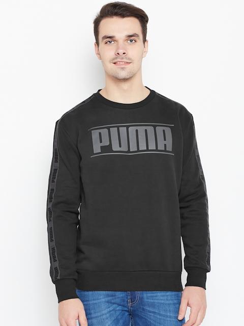 Puma Men Black Rebel Tape FI Printed Sweatshirt