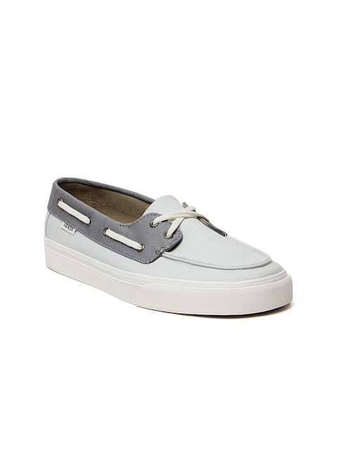 Vans Women Grey Chauffette SF Sneakers