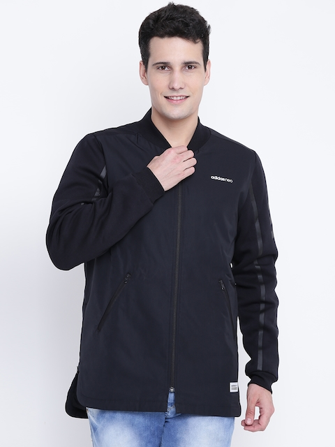 Adidas NEO Men Black UT PDD BMB Solid Sporty Jacket