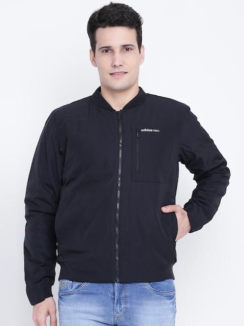 Adidas NEO Men Black LP BM Solid Bomber Jacket