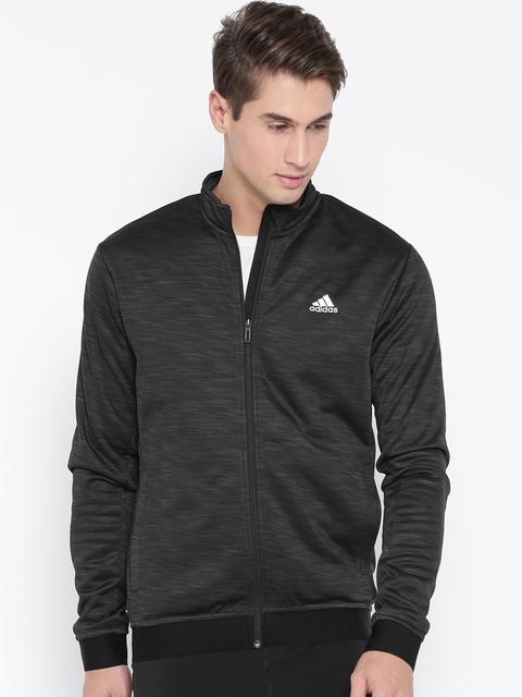 Adidas Men Black WNTOFF BND Bomber Jacket