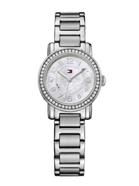 Tommy Hilfiger Women Silver-Toned Dial Watch NATH1781478J