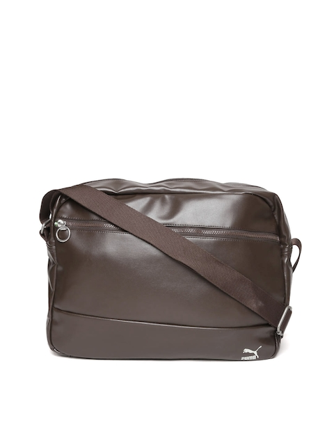 Best PriceRs.798. GRAB DEAL. Myntra. Puma Unisex Coffee Brown Originals  Reporter Messenger Bag fd2702f14f0ea