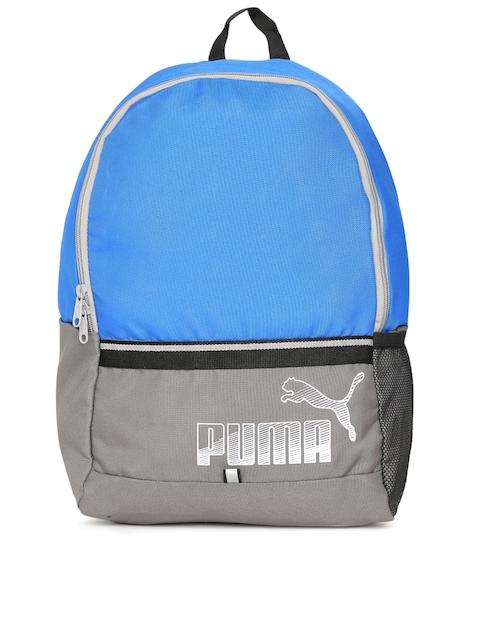 Puma Unisex Blue & Grey Phase Backpack