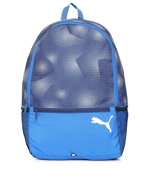 Puma Unisex Blue Alpha Backpack