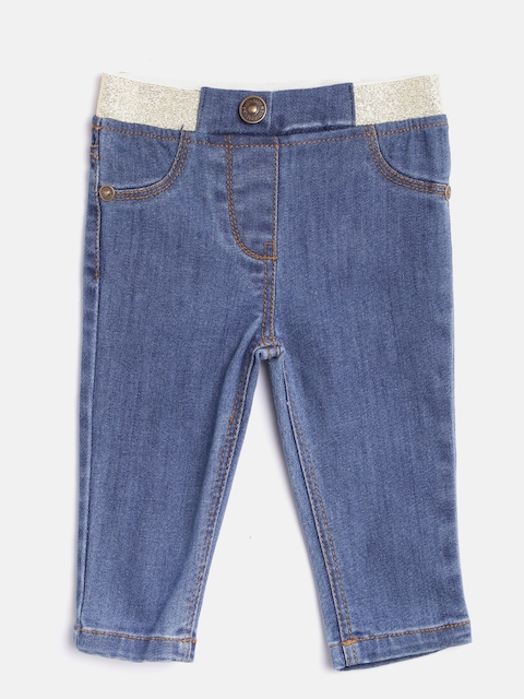 Nauti Nati Girls Blue Denim Jeggings