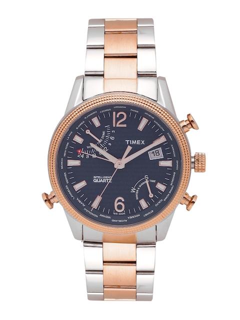 Timex Men Navy Blue Analogue Watch TWEG16101