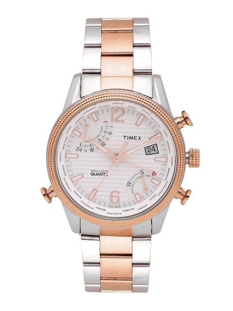 Timex Men White Analogue Watch TWEG16100