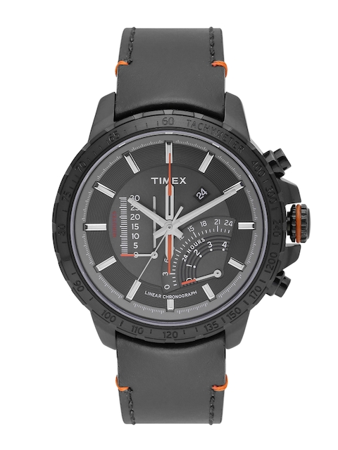 Timex Men Black Multifunction Watch 16202