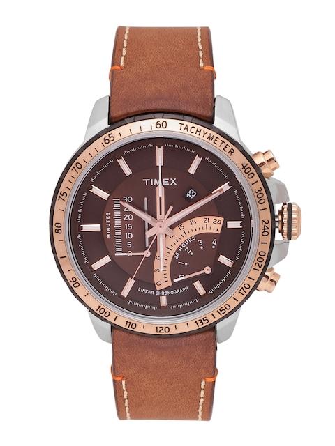 Timex Men Brown Analogue Watch TWEG16204