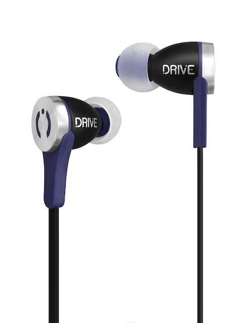 Muve Acoustics Black Drive Premium In-ear Earphones with Mic Muve_ MA-1000SB