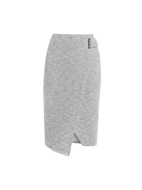 next Grey Pencil Skirt
