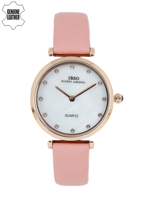 IBSO Women White Analogue Watch B2210LCPI