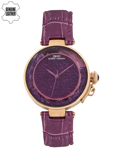 IBSO Women Purple Analogue Watch S8111LVO