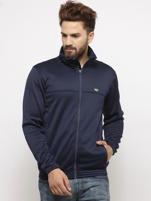 Wildcraft Men Navy Blue Solid Tailored Jacket