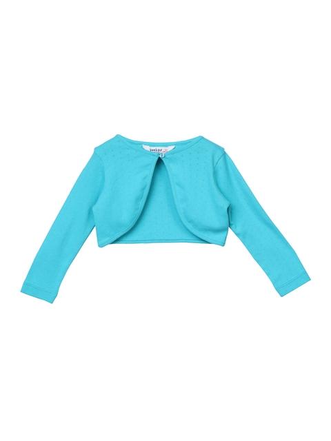 Beebay Kids Girls Turquoise Blue Shrug