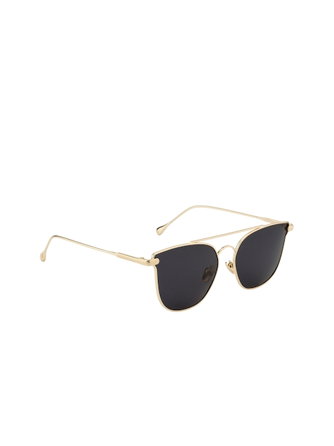 Ted Smith Unisex Oval Sunglasses