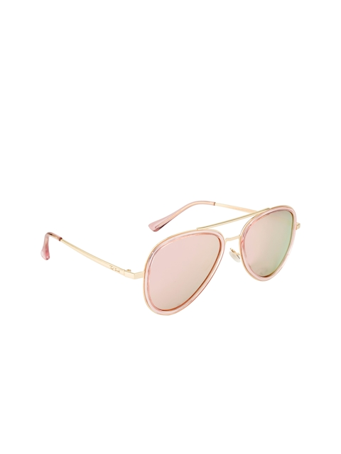 Ted Smith Unisex Oval Sunglasses TS-P17030S