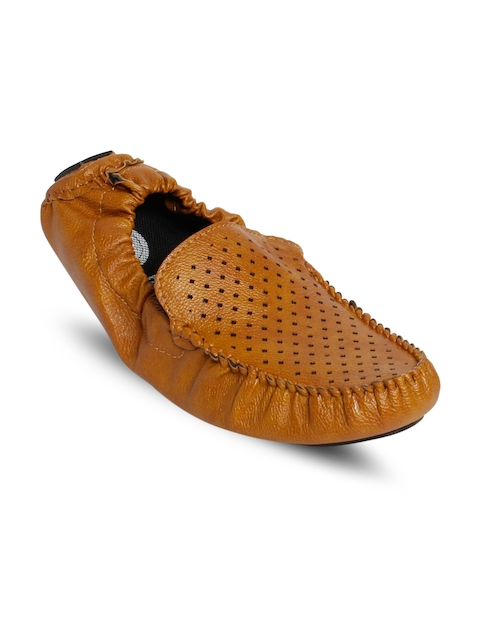 bacca bucci Men Tan Brown Loafers
