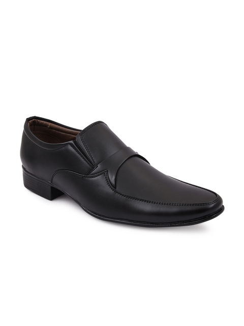 bacca bucci Men Black Formal Shoes