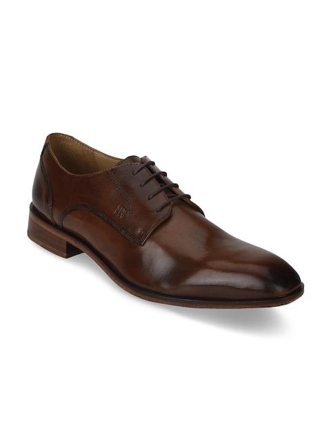 Raymond Men Brown Leather Derbys