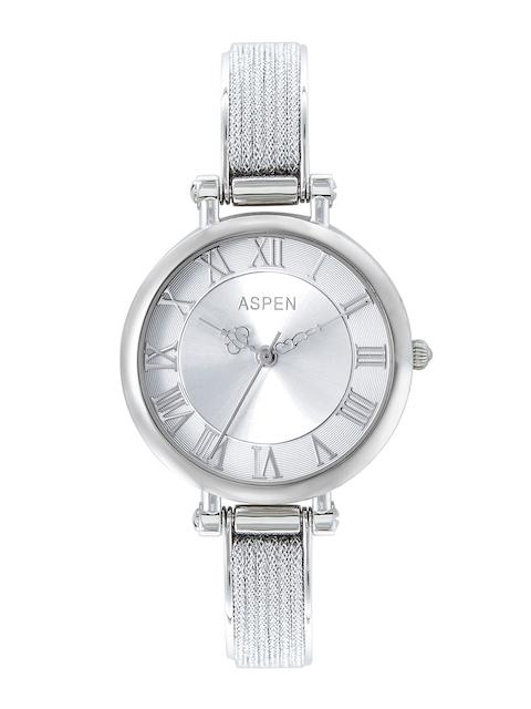 ASPEN Women Silver-Toned Analogue Watch AP2011