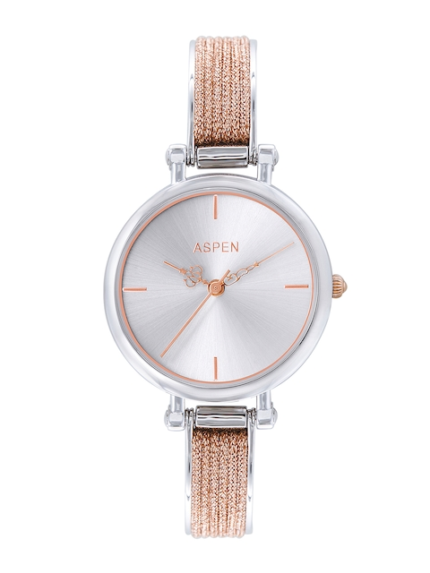 ASPEN Women Silver-Toned Analogue Watch AP2013