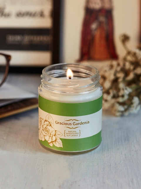 Resonance White Gardenia Scented Candle