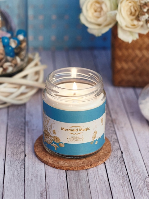 Resonance White Mermaid Magic Scented Candle