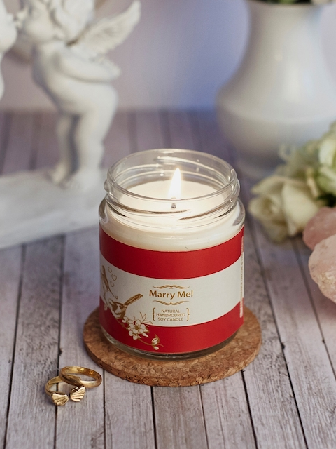 Resonance White Marry Me! Scented Candle