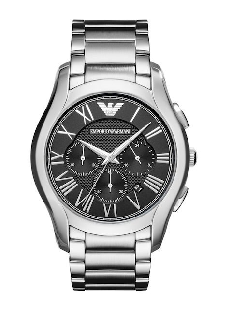 Emporio Armani Men Black Chronograph Watch AR11083I