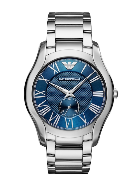Emporio Armani Men Navy Analogue Watch AR11085I