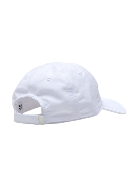 Lacoste Men White Cap with Ultra-Dry Technology