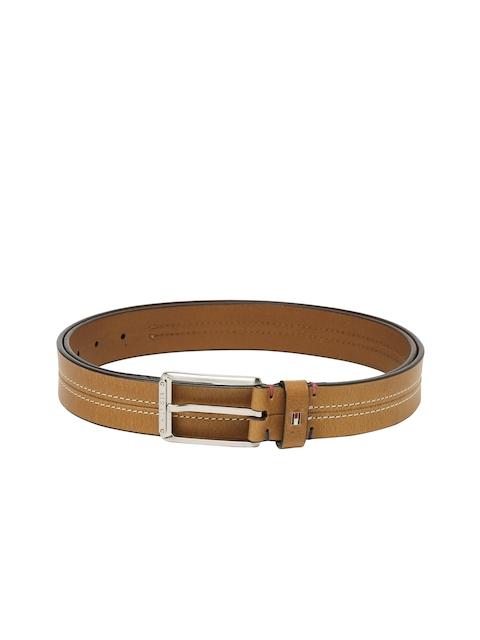 Tommy Hilfiger Men Brown Solid Belt