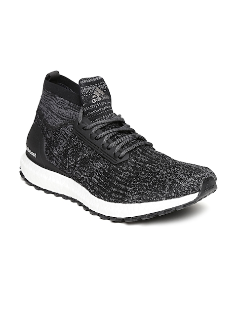 Adidas Men Black & Grey Ultraboost All Terrain Woven Design Running Shoes