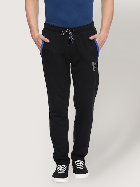 Van Heusen Black Men Track Pants