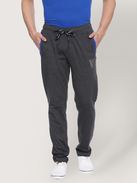 Van Heusen Charcoal Grey Track Pants