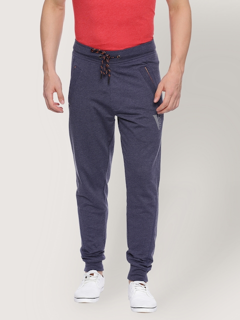 Van Heusen Blue Men Track Pants