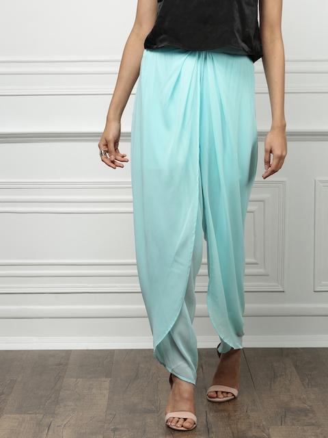 all about you from Deepika Padukone Women Turquoise Blue Jodhpuris