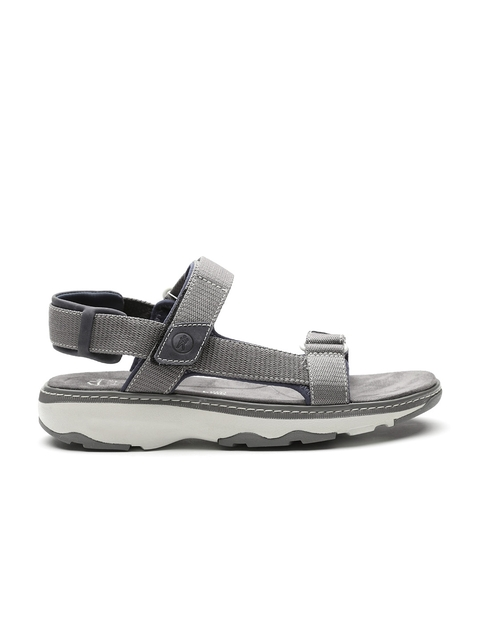Clarks Men Grey Sports Sandals