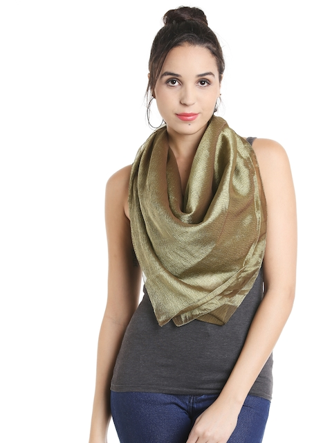 Noi Olive Green Scarf